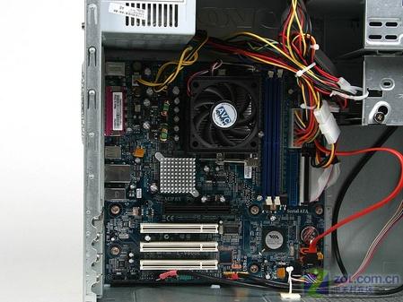电脑主机内部接线图