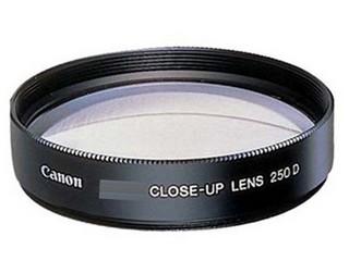 佳能52mm近摄镜片 250D