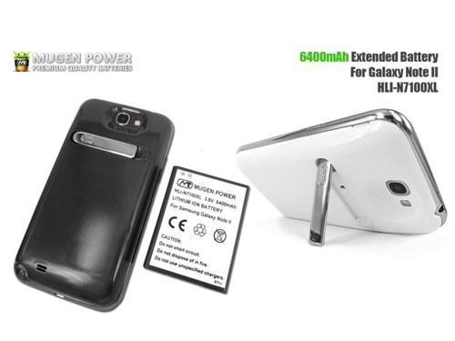 6400毫安时 三星GALAXY Note Ⅱ超级电池