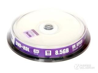 明基可打印DVD+R DL 8速 8.5G(10片桶装)