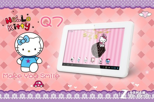 女生最爱 Hello Kitty平板Q7可爱萌图赏