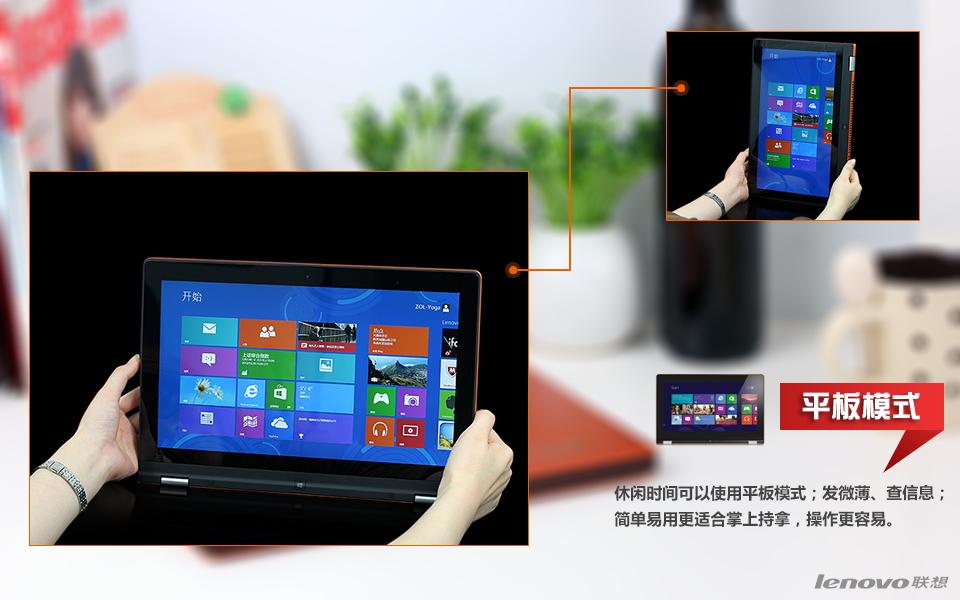 联想Yoga11S-IFI(2GB/128GB)皓月银图片10