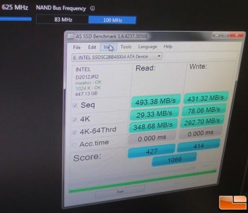 爆料:英特尔首次公开展示SSD超频技术