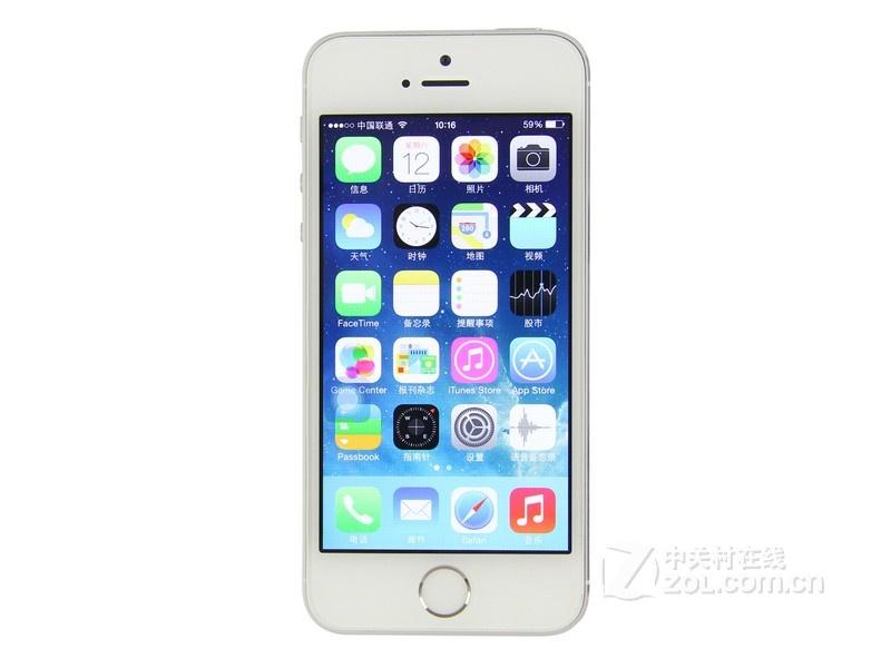 苹果iPhone 5S(双4G)整体外观图