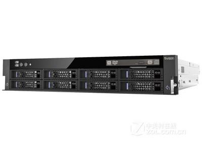 曙光 I420-G10 12盘位((Xeon E5-2407*1/1*8GB/9*300GB/RAID卡*2)