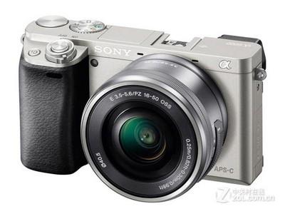 索尼(SONY)ILCE-6000L APS-C微单单镜套机 黑色(2430万有效像素 16-50mm镜头 F3.5-5.6 a6000L/α6000)