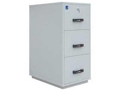 泰格防火柜  FRD-33/FRD33 泰格 一小时防火防磁文件柜(1小时防火)磁带/光盘存放柜 3个磁碟抽屉