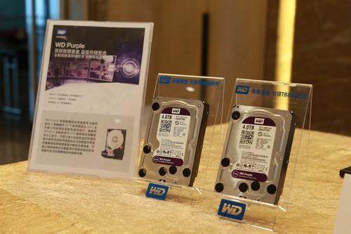 WD紫盘全新监控系列亮相深圳