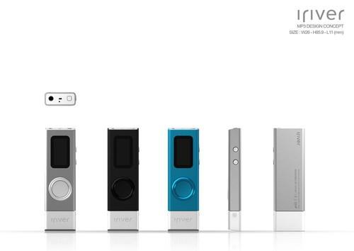 简约+时尚,艾利和全新MP3音乐播放器曝光