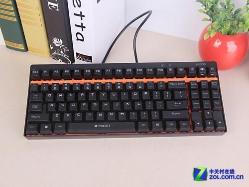 199元的机械键盘 雷柏V500键盘首测