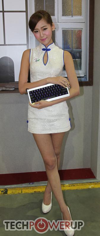 台北电脑展又一大波妹子来袭 130张ShowGirl美图一网打尽的照片 - 53