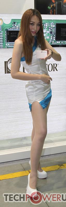 台北电脑展又一大波妹子来袭 130张ShowGirl美图一网打尽的照片 - 17