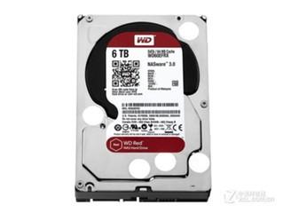 西部数据6TB 64MB SATA3 红盘 (WD60EFRX)