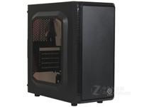 Tt机箱 启航者S3 电脑组装DIY迷你透明水冷台式游戏办公小机箱