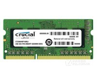 Crucial英睿达美光低电压 DDR3 1600 2G笔记本内存条高密度兼133