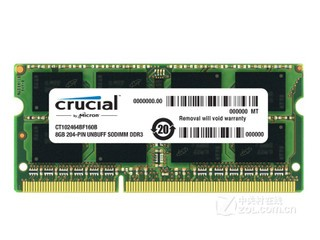 英睿达8GB DDR3 1600(CT102464BF160B)