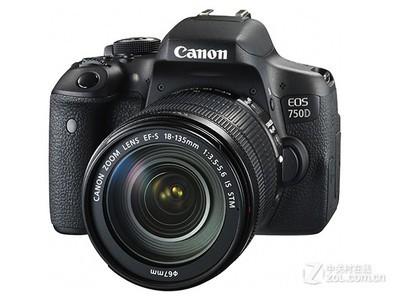 佳能(Canon)EOS 750D 数码单反相机 佳能750D (佳能EF-S18-135 IS STM镜头)套机 更多详情与客服联系;010-51668353