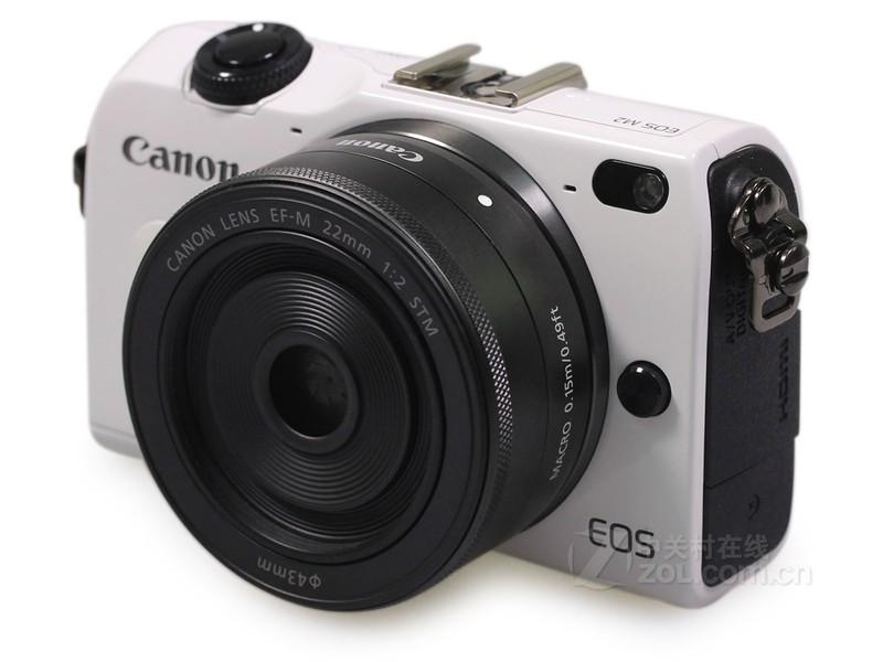 佳能EOS M2套机(EF-M 18-55mm,90EX闪光灯)