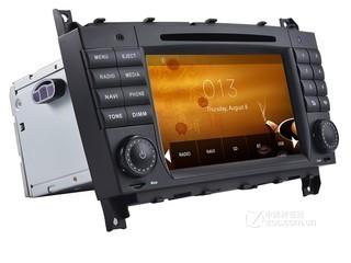 德众尚杰S600-8842车载GPS导航仪奔驰C-Class车载DVD导航