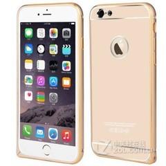 金刚钻金属边框保护套苹果6/苹果6plus iPhone6 土豪金 4.7寸