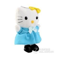 PLUFY 可爱卡通毛绒移动电源-可爱猫