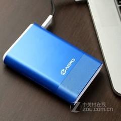 尼蒙乐宝移动电源 10000毫安聚合物双U输出- 宝石蓝