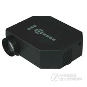 优丽可(UNIC) UC30 家用LED微型投影仪迷你便携投影机便携式微投 黑色 套餐一