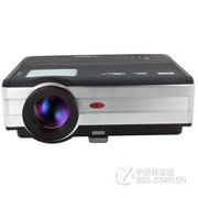 EUG X89 广角投影仪家用高清LED投影机3D家庭影院 经典标配版