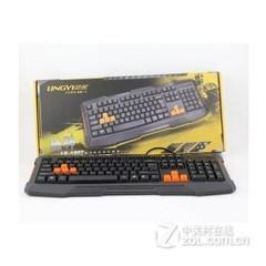 灵逸LK-1807捕神游戏键盘 黑色