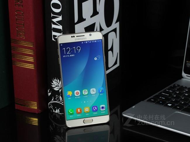 三星 Galaxy Note5(N9200)移动联通电信4G双卡双待手机 雪晶白