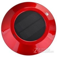 酷道909b 太阳能车载空气净化器 红色