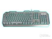 新盟 曼巴狂蛇K610三色背光游戏键盘