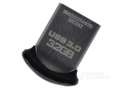 闪迪 SDCZ43 至尊高速酷豆USB3.0闪存盘(32GB)