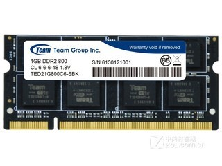 Team 1GB DDR2 800(TED21G800C6-SBK)