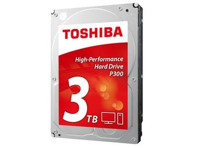 东芝P300系列 3TB 7200转64M(HDWD130)