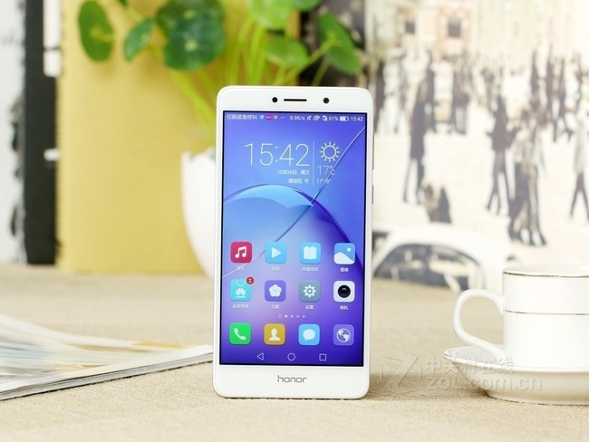 【新年货】荣耀 畅玩6X 4GB+64GB 全网通4G手机 尊享版 冰河银