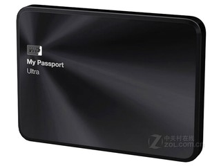 西部数据My Passport Ultra 金属版 1TB(WDBTYH0010BBK)