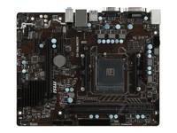MSI/微星 A320M PRO-VD AM4接口 支持DDR4主板 升级成A320M PLUS