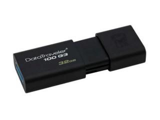 金士顿DataTraveler 100 G3 USB3.0闪存盘(32GB)