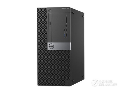 戴尔 OptiPlex 7050系列 微塔式机(i7 7500/8GB/1TB/集显)