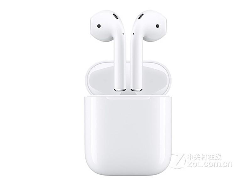 苹果AirPods 2(配充电盒)整体外观图