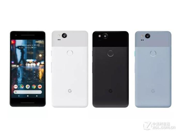 Google Pixel 2(双4G)整体外观图