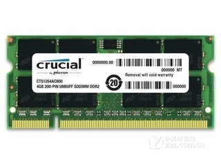 英睿达4GB DDR2 800(CT51264AC800)