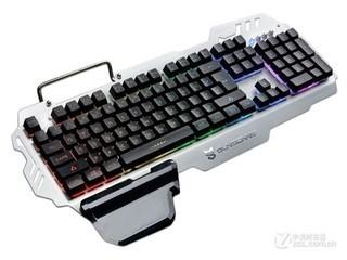 森松尼K10七色声控金属键盘