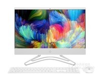 白色经典办公一体机 21.5英寸大屏幕