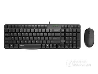 雷柏X120S有线光学键鼠套装