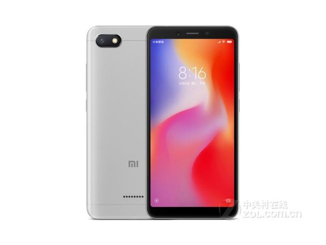 小米 红米6A 全网通版 2GB内存 巴厘蓝 16GB 移动联通电信4G手机 双卡双待