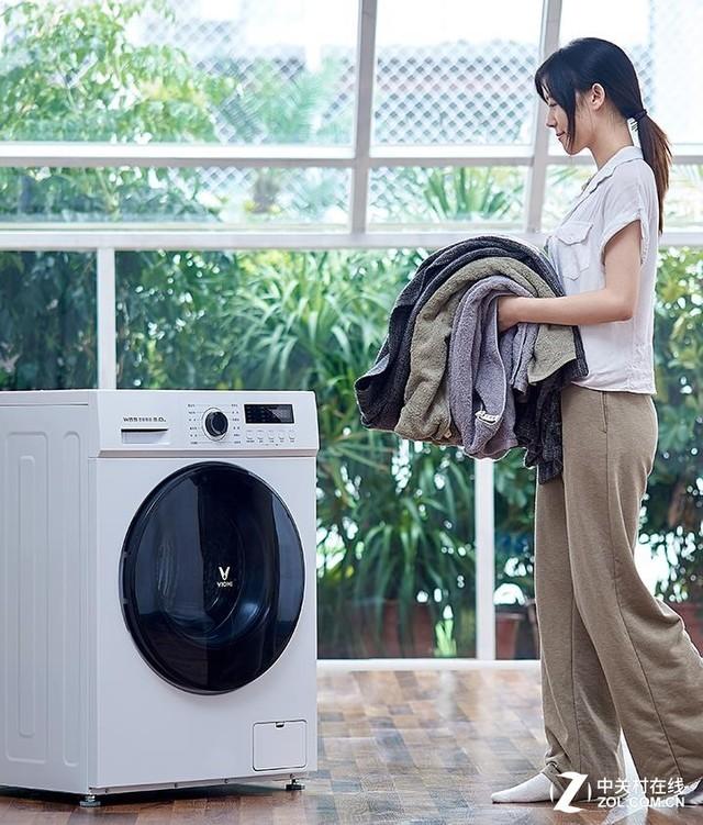 云米推1399元互联网洗衣机 15分钟超快洗