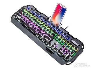 新盟x10曼巴狂蛇复古朋克旗舰升级版键盘(茶轴)