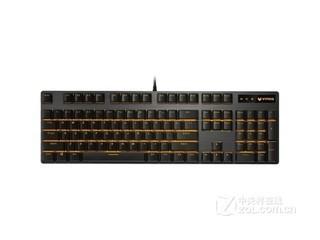 雷柏V500PRO单光红轴游戏机械键盘